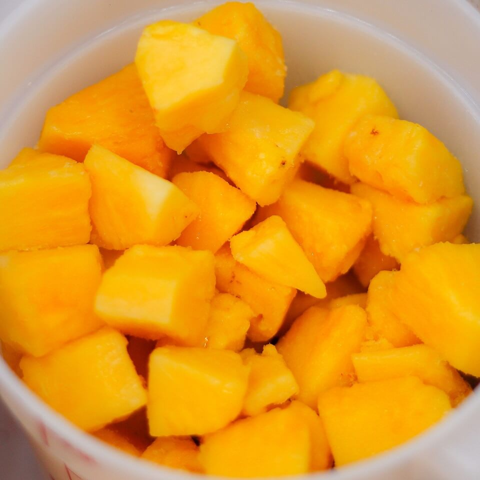 Mango Yogurt Fruit